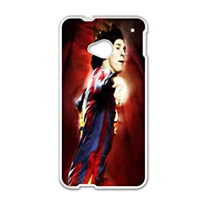 Barcelona HTC One M7 Cell Phone Case White MUS9203813