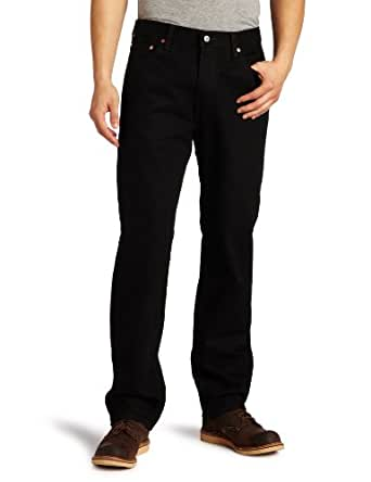 Levi's Men's 550 Relaxed Fit Jean, Black, 29x30