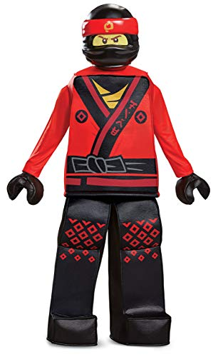 (Disguise Kai Lego Ninjago Movie Prestige Costume, Red, Small)