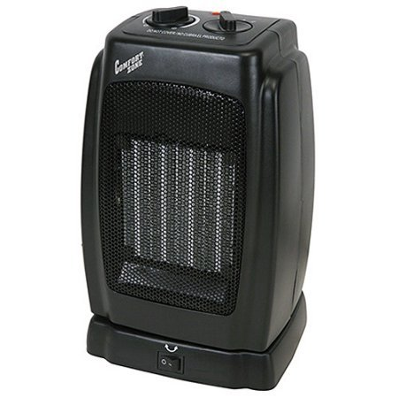High-Performance 1500 Watts Oscillating Compact Ceramic Heater, 6