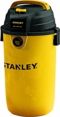 Stanley Wet/Dry Hanging Vacuum, 4.5 Gallon, 4 Horsepower