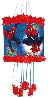 Spiderman Pull String Pinjata Pinata Party Game Toy Fill With Sweets By Spider Man Amazon Ca Toys Games