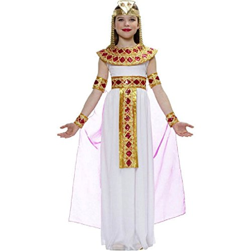 OvedcRay Pink Child Girls Cleopatra Egyptian Queen Of The Nile Princess Kids (Roman Princess Child Costume)