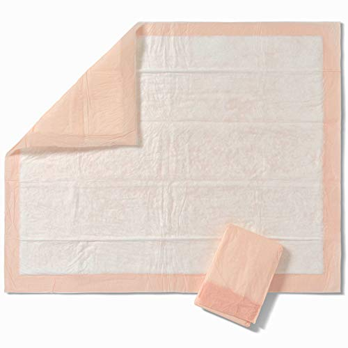 - FitRight Heavy Absorbency Disposable Underpads, Super Absobent Polymer and Fluff Core, 30