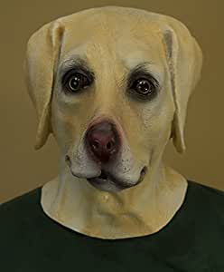 Amazon.com: Latex Golden Retriever Dog Mask: Health