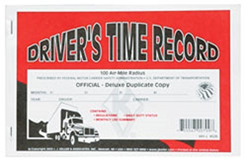 Have one to sell? Sell now J.J. Keller Driver's Time Record Deluxe Duplicate Log Book, pack of 25