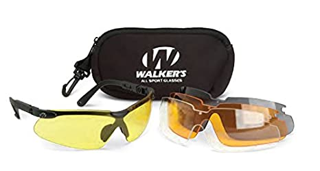 fe83aafaec08 Image Unavailable. Image not available for. Color  Walker s Sport Glasses  with Interchangeable Lens