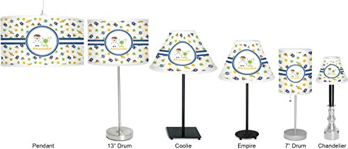 RNK Shops Boy's Space Themed 7'' Drum Lamp with Shade Polyester (Personalized) by RNK Shops (Image #6)