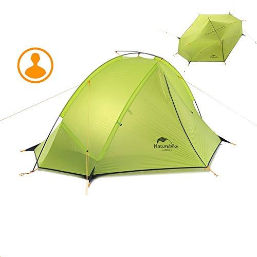 適応するウェイド乞食NatureHike多賀1-2人用テントキャンプのバックパックテント20D超軽量ファブリックNH17T140-J