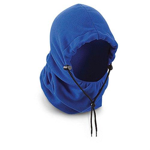 Jacob Ash 4-in-1 Fleece Hood, Royal Blue