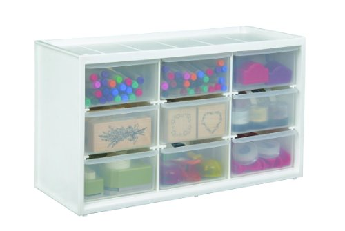 (ArtBin Store-In-Drawer Cabinet; 9 Art and Craft Supply Storage Drawers, 6809PC)