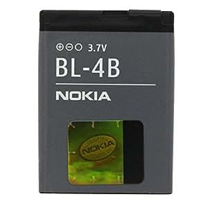 "Nokia BL-4B Bateria Li-Ion, 700 mAh, para Nokia 2630 / 2760 / 5000 / 6111 / 7070 prism / 7370 / 7373 / 7500 Prism / N76 con ""MyTouch"" bolsa"