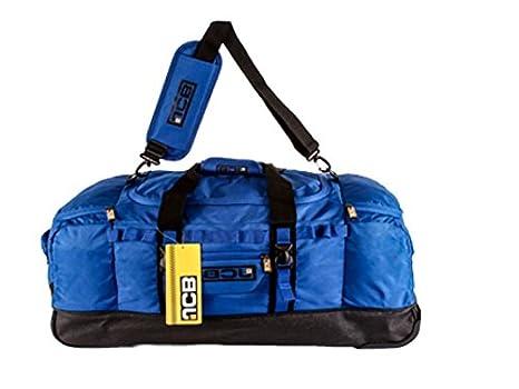 Nueva alta calidad original JCB Extra Large - Bolsa (con ruedas para carrito con ruedas con bolsa bolsa de viaje bolsa de equipaje - Bolsa de deporte azul ...