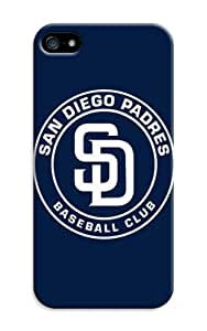 Customizable Baseball San Diego Padres Design Unique Best Durable Plastic Silicone Case For Iphone 5/5S Cover