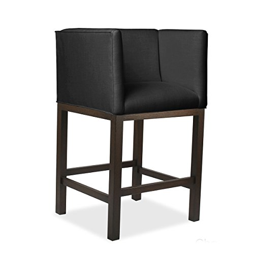 Charc Charcoal (South Cone Home MADICS26COG/Charc Madison Counter Stool, 26