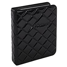 Polaroid 64-Pocket Photo Album w/Sleek Quilted Cover For 2x3 Photo Paper (Snap, Zip, Z2300) - Black