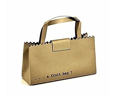283eefa14762bd Regenesi Shorty Fruit Bag - sac en cuir régénéré fait main en Italie -  blanc: Amazon.fr: Chaussures et Sacs