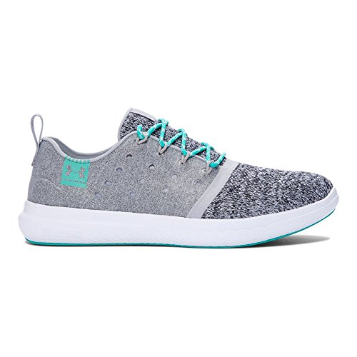 Under Armour Men's Charged 24/7 Sneaker, Overcast Gray (941)/White, 8.5 -
