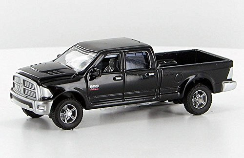 ERTL 1:64 *BLACK* 2012 Dodge Ram 2500 Heavy Duty Pickup Truck w/Hitches *NEW!*