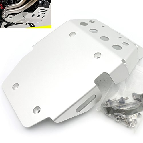 Engine Guard Skid Plate (Motorcycle Skid Plate Engine Protector Guard Cover For BMW F800GS 2008-2016(Silver))