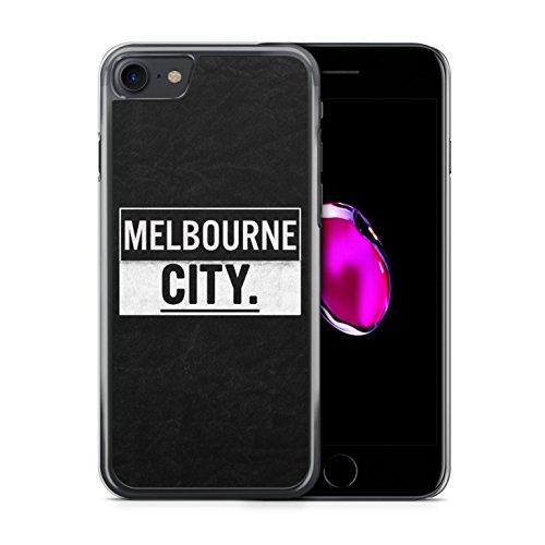 MELBOURNE City iPhone 7 Hardcase Hülle Cover Case Handyhülle Australien Australia