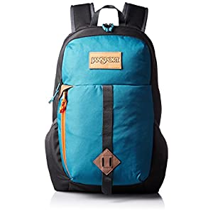 "JanSport Mens Outside Specialty Hawk Ridge Backpack - Corsair Blue / 17.7""H x 12.8""W x 5.5""D"