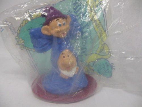 McDonalds Dopey & Sneezy Dwarfs from Snow White Fast Food Toy