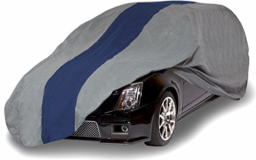 Duck Covers A2SW184 Double Defender Station Wagon Cover for Wagons up to 15' 4