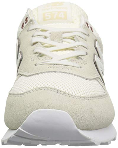 New Tennis Da Sea Balance rose 574v2 Donna Salt Gold Scarpa metallic faPrf