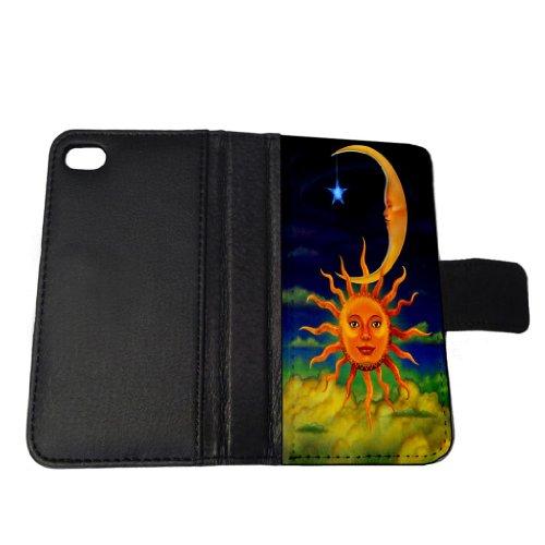 moon-sun-stars-clouds-art-iphone-5-5s-wallet-case