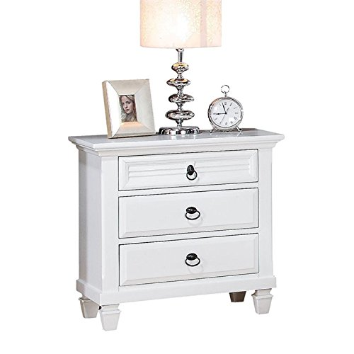 ACME Furniture 22423 Merivale Nightstand, White, One Size by Acme Furniture