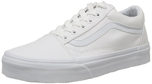 Vans Old Skool Sneaker,True White,US 14 (Bianca Footwear)