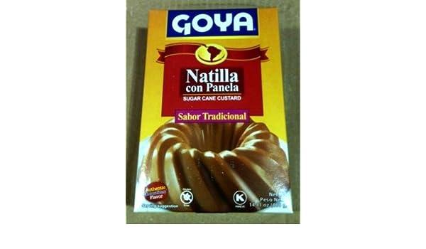 Amazon.com : Goya Natilla con Panela Pudding Mix : Grocery & Gourmet Food