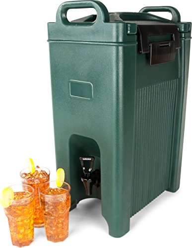 Carlisle XT500008 Cateraide Insulated Beverage Server Dispenser, 5 Gallon, Forest Green by Carlisle (Image #3)