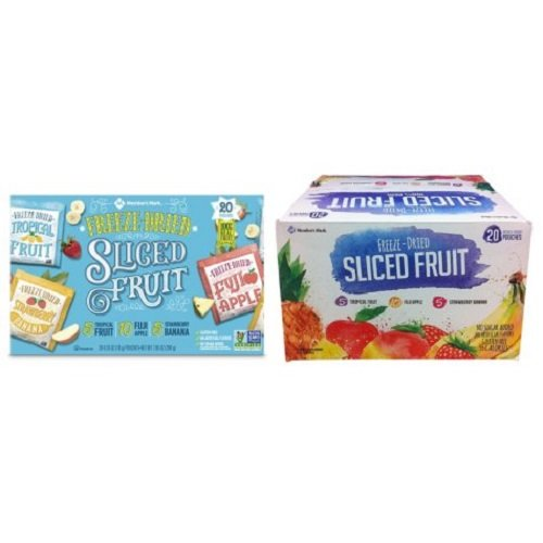 Member's Mark Freeze-Dried Fruit Snacks (20 ct.) (pack of 2)
