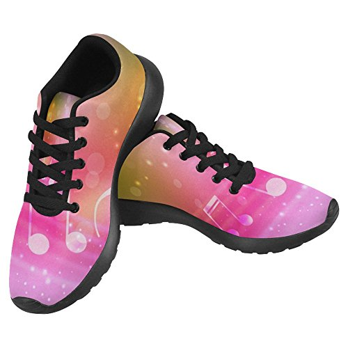 Interestprint Femmes Mocassins Classique Toile Casual Slip Sur La Mode Chaussures Sneakers Mary Jane Plat Multi 21
