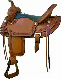 Billy Cook Reno Flex Trail Saddle16 Inch