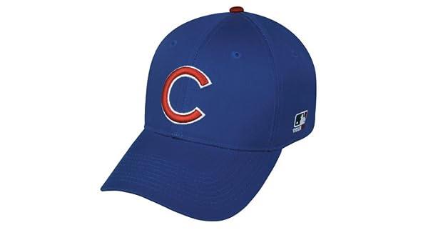 78691640f9587 Chicago Cubs MLB oficial adultos Gorra de béisbol gorra réplica  Amazon.es   Deportes y aire libre