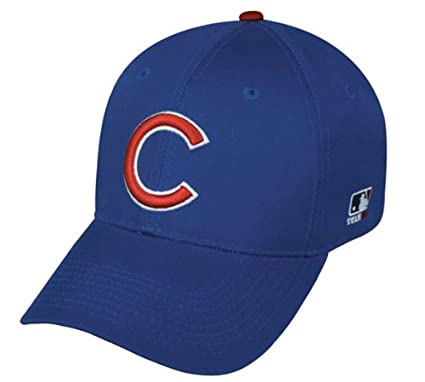 Amazon.com   Chicago Cubs ADULT Adjustable Hat MLB Officially ... 04f218300f6