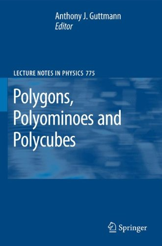 Polygons, Polyominoes and Polycubes (Lecture Notes in Physics) by A J Guttmann
