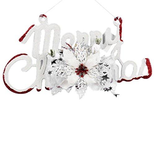 2017 Christmas Tree Decorations!Elevin(TM)Christmas Tree Top Sparkle Stars Hang Xmas Decoration Ornament Treetop Topper (N)
