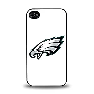 iPhone 4 4S case protective skin back cover with NFL Philadelphia Eagles Team Logo 2014 Latest - 8