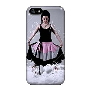Iphone 5/5s Yhy4607lTsn Customized HD Evanescence Band Series Scratch Protection Hard Phone Cover -SherriFakhry