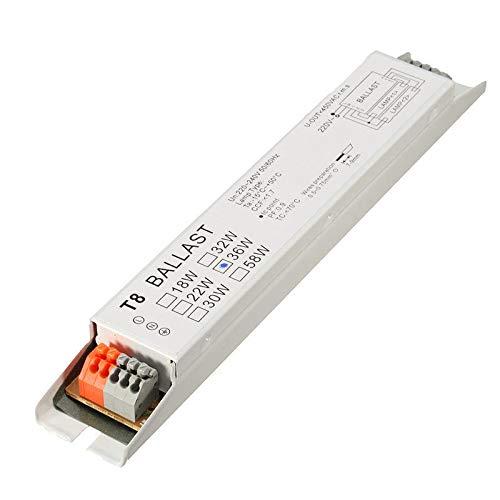 220-240V 2x36W Wide Voltage T8 Fluorescent Lamp Balla - Arduino Compatible SCM & DIY Kits Module Board - 1 x Electronic ()