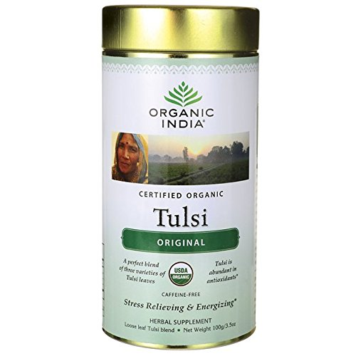 Organic India Tulsi Licorice Spice, 18 Count Boxes