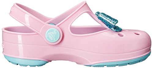 baf8ff61deeec Crocs Carlie Glitter Bow Mary Jane Carlie Glittle Clog (Toddler ...