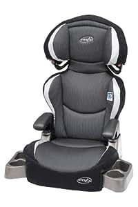 Evenflo Big Kid DLX Belt Positioning Booster Seat, Eclipse (Discontinued by Manufacturer)