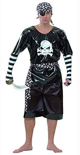 Disfraz de Pirata. Talla única de hombre adulto.: Amazon.es ...