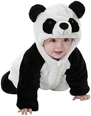 Katara-1778-043 Kigurumi Mameluco Disfraz Infantil, color panda ...