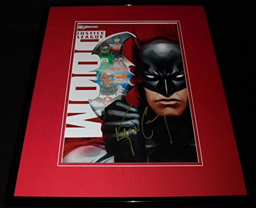 Conroy Signed - Kevin Conroy Signed Framed 16x20 Photo Poster Display AW Justice League Batman